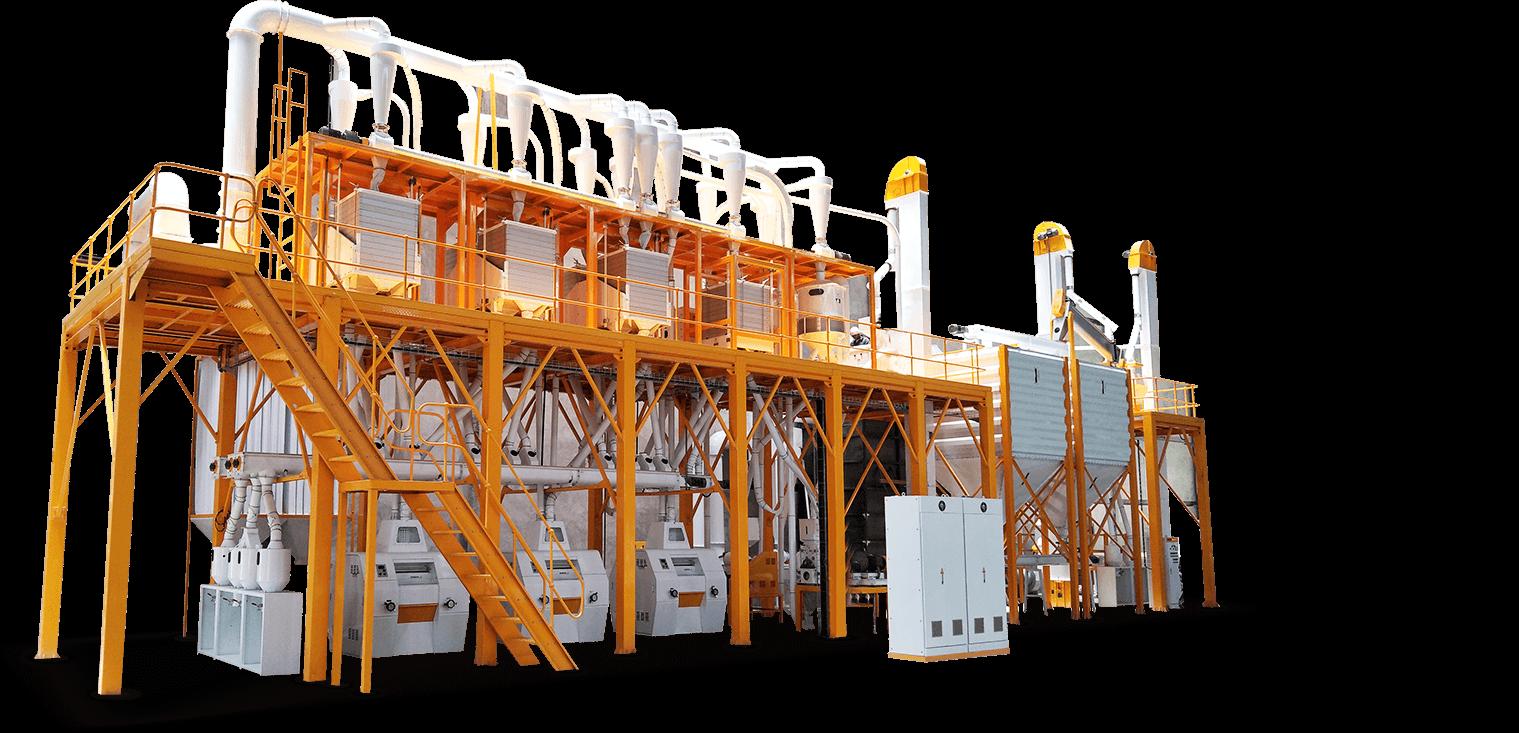 Комплектное оборудование для переработки кукурузы