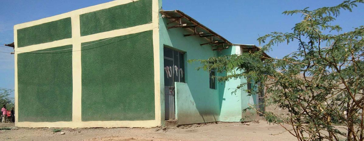 Построить дом для местных жителей