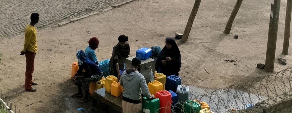 Постройте колодец для водоснабжения жителей села