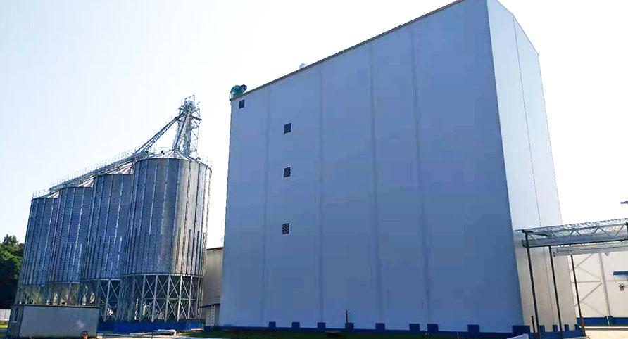 Проект по переработке пшеницы под ключ 180TPD