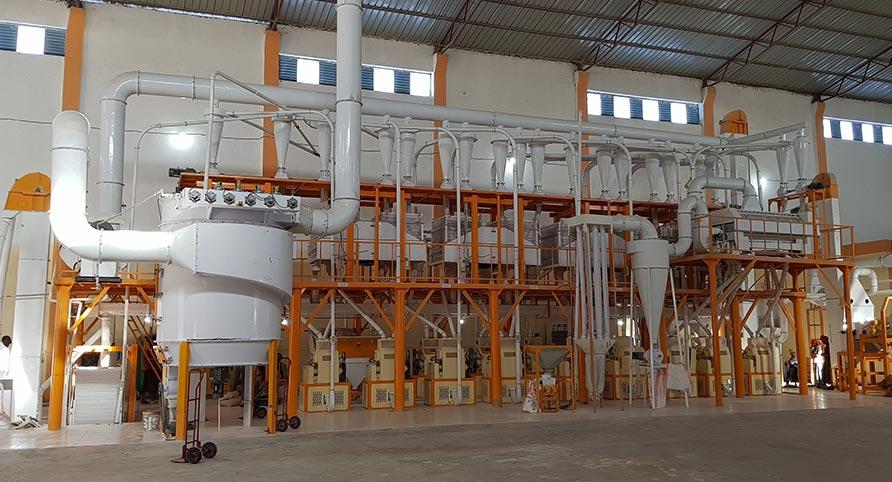 Эфиопия Пшеничный завод 140 тонн в сутки