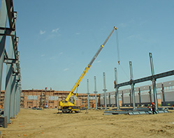 В 2012г. построен объект по расширению производственной линии оборудования для переработки зерна